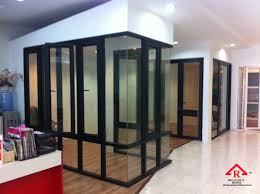 aluminum office partitions. Reliance Home Auminum Glass Partition-18 Aluminum Office Partitions