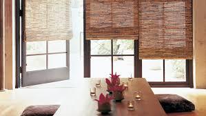 wood roman shades. Total Window Woven Wood Shades Roman