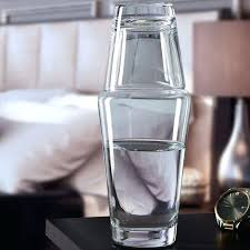 water carafe set hydro 2 piece bedside water carafe set bedside water carafe and glass set australia
