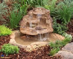 natures magic kit waterfall pond universal rocks stone water