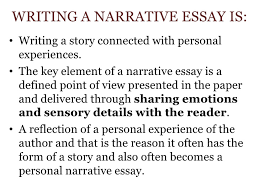 narrative essay for week  the narrative essay <br > 2