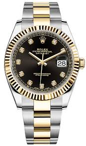 126333 black diamond oyster rolex datejust 41mm stainless steel availability rolex datejust 41mm steel and yellow gold mens watch