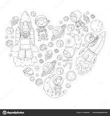 Ruimte Voor Kinderen Kleurplaat Boek Kinderen En Kosmos