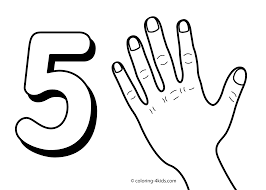 Small Picture Number 5 Coloring Page GetColoringPagescom