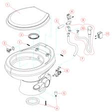 Tremendous toilet bowl parts diagram