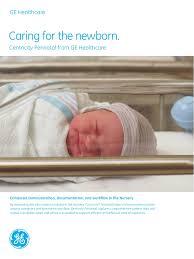 Centricity Perinatal Nursery Brochure