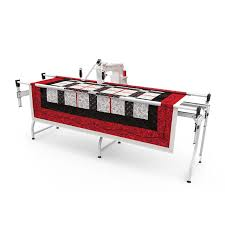Qnique 15R Quilting machine | Manufactured By The Grace Company & SR2+ Queen Quilting Frame (+$1,199.95) Adamdwight.com