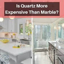 is quartz more expensive than marble