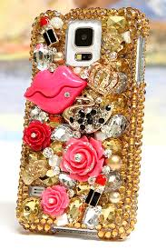 Designer Phone Cases For Samsung Galaxy S5 Samsung Galaxy S5 Case New Protective Golden Lady 3d Design