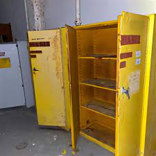 flammable liquid storage cabinet for