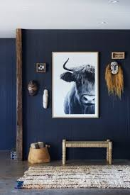 navy blue wall paint ideas. navy entryway with large art blue wall paint ideas h