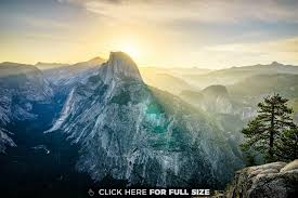 first time yosemite sunrise was chill wallpaper