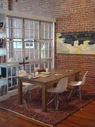 #10 old windows can be a great transparent room divider