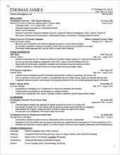 best Resume Example images on Pinterest   Sample resume  Resume     Home CV template