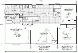 triple wide mobile home floor plans lovely fleetwood mobile home floor plans new home plans design