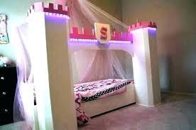 Toddler Canopy Bed Diy Boy Frozen Instructions Black Mouse Bedroom ...