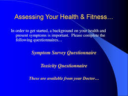 Health And Fitness Survey Questions Attaining Maintaining Health And Fitness Ppt Download