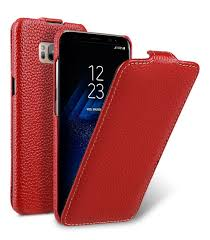 melkco premium leather case for samsung galaxy s8 jacka type red lc