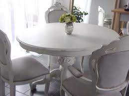 gorgeous french style shabby chic round dining table only painted annie sloan chic shabby french style