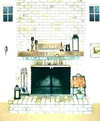 wood mantel on brick fireplace best shelves install how to make a shelf for ideas decor