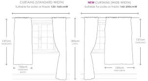 sizing curtains guide looksisquare com throughout curtain size designs 2