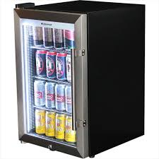 Furniture, Wonderful Glass Door Mini Fridge Ideas: Range Price of Glass Door  Mini Fridge