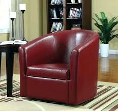 unusual swivel leather accent chairs for living room elegance fantastic home furniture