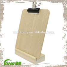 Wooden Menu Display Stands Inspiration Wooden Menu Display Stands Good Quality Wood Menu Plinths Stand
