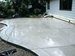 backyard concrete patio ideas octeesco