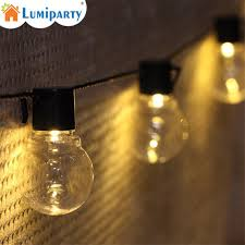 Bulb Fairy Lights Us 10 52 33 Off Led G50 Outdoor Globe String Lights Connectable Christmas Fairy Light Ball Bulb String For Party Garland Wedding Decoration In