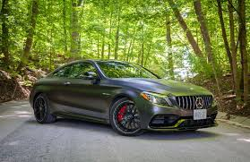Then browse inventory or schedule a test drive1. Car Review 2020 Mercedes Amg C63 S Coupe Driving Ca Driving