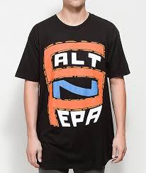 Salt N Pepa S N P Logo Black T Shirt