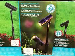 Alpan Solar Lights Sam S Club Alpan Smartyard Smart Focus Led Solar Spotlight 2 Pack