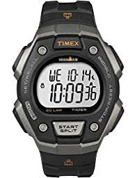 timex watches shop amazon uk timex ironman men s t5k821 quartz classic 30 lap watch lcd dial digital display and black resin strap