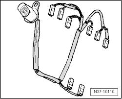 volkswagen workshop manuals > golf mk6 > power transmission > 6 n37 10110