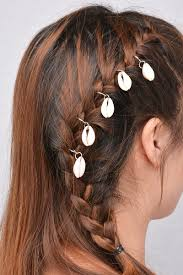 bohemia hair accessories for women african plait jewelry summer beach hairpins s leaves headwear wedding bridal hair clips in hair jewelry from jewelry