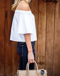 off the shoulder Cut Paste Blog de Moda