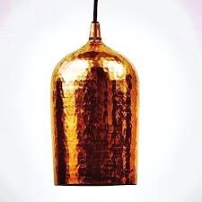 hammered copper pendant light image of hammered copper pendant light hammered copper mini pendant light