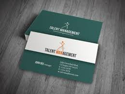 Cp00010 Corporate Talent Management Business Card Templates