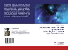 bookcover of stus on einstein s field equations and cosmological constant