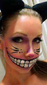 37 scary face makeup ideas awesome cheshire cat
