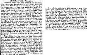 Mayflower Passenger List Descendants Genealogybank
