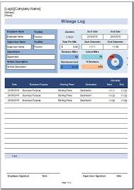 Free Mileage Log Templates Free Mileage Log Template For Excel Payroll Templates Pinterest