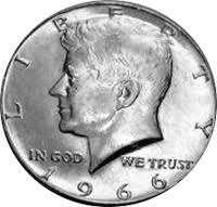 1966 Kennedy Half Dollar Value Cointrackers