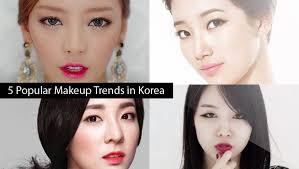 5 por makeup trends in korea dara na eun minah hara suzy jaekyung bora