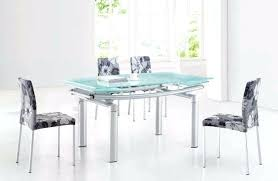 modern glass dining tables and chairs uk for ultra extendable room set delectable t