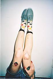 Vans Girls Film Shoes Style Vans Off The Wall Tattoos Legs Nail Art