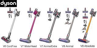 Dyson Stick Comparison Chart Mchardy Vacuum