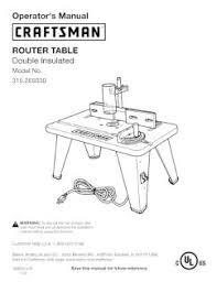 315 265030 craftsman router table Craftsman 315 Rouer Wiring Diagram Craftsman 315 Rouer Wiring Diagram #46