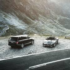 1280x1280 wallpaper jaguar f type range rover mountains road
